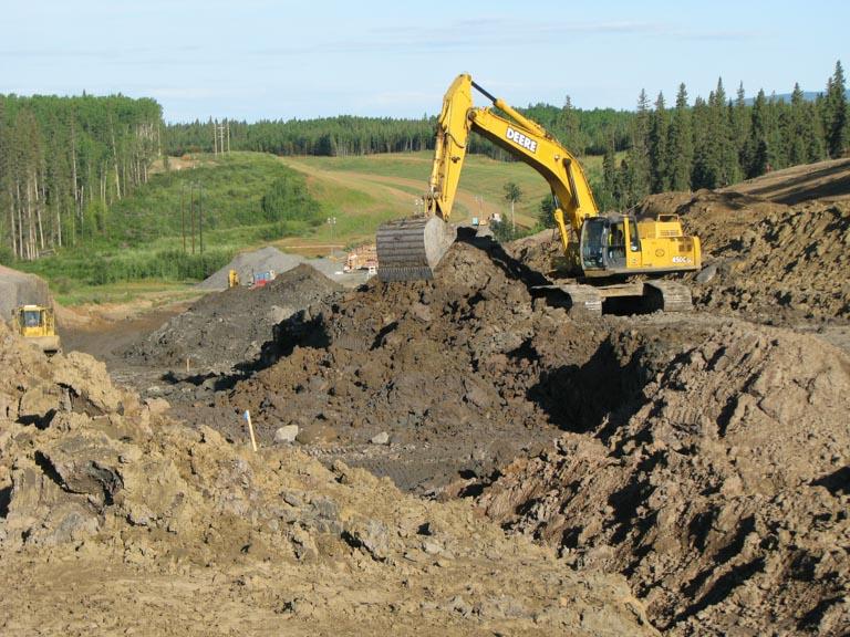 Northern Road Builders - La Crete, Alberta - Excavator