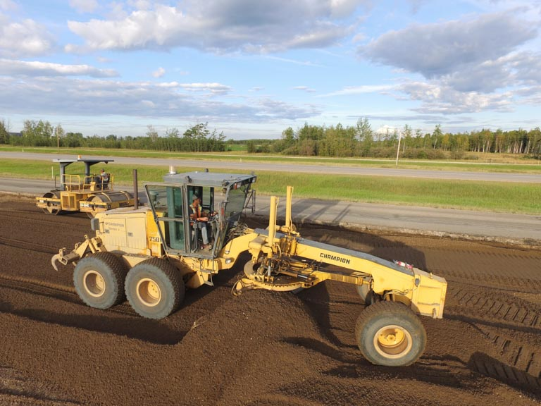 Northern Road Builders - La Crete, Alberta - Grader