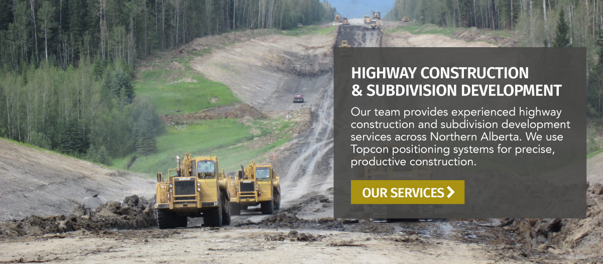 Highway Construction & Subdivision Development - La Crete