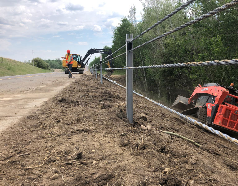 Northern Road Builders – La Crete, Alberta – Highway
