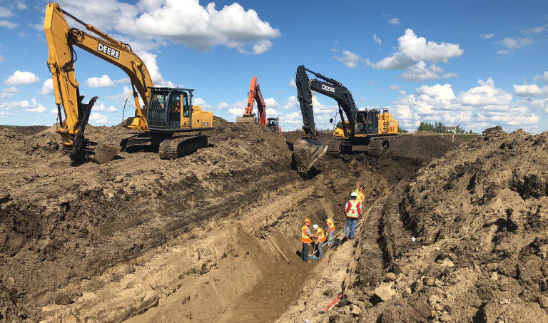 Northern Road Builders - Subdivision Development - La Crete, Alberta